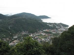 Пляж Ката. Вид с горы Будды.